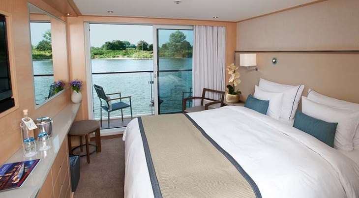 Viking River Cruises balcony cabin